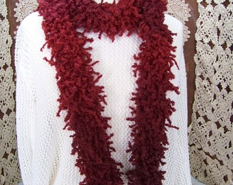Boa or scarf (Cranberry) # 801