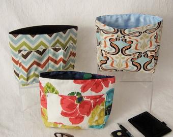 Purse Insert Organizers, Bag Organizer, Insert Divider, Extra Pockets, Fabric Bag Insert, Bag Liner, Organizing Pockets, Gift for Her,