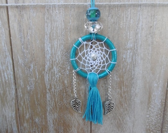 Bohemian necklace dream catcher