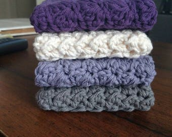 The Best Crocheted Dish Cloths