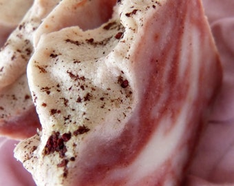 Raspberry, Homemade Soap, Vegan Soap, Natural Soap, Raspberry Sorbet