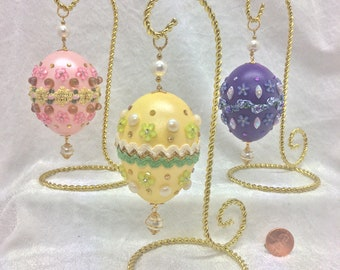 Spring Time Easter Eggs~Faberge Style Duck