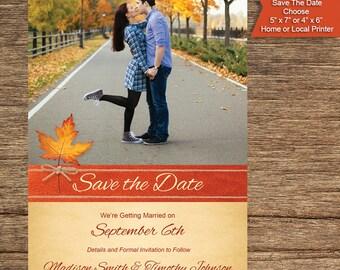 Photo Fall Save The Date FALL-01-STDP-Digital