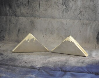 """Napkin rings """"Mont Blanc"""" brushed aluminum"""