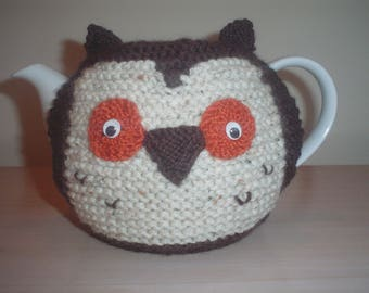 Owl teapot etsy hand knitted owl teapot cozy tea cosy dt1010fo