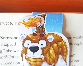 Iorek and Lyra Magnetic Bookmark