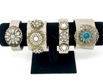 Statement Bracelets // Fabric Bracelets