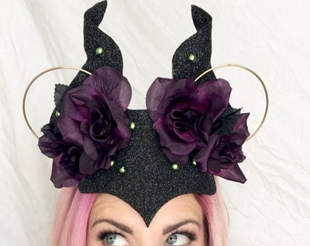 Maleficent Headband/ Minnie Ears/ Headband