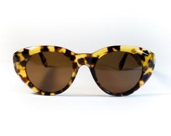 ARTISTI ITALIANI S104 C55  90s vintage original sunglasses tortoise