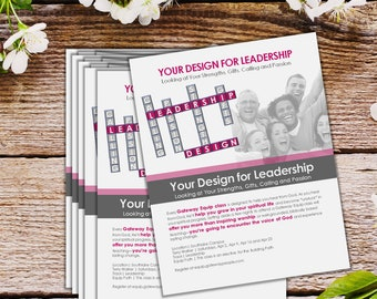 Flyers and Brochures - Custom Design (Qty. 100)