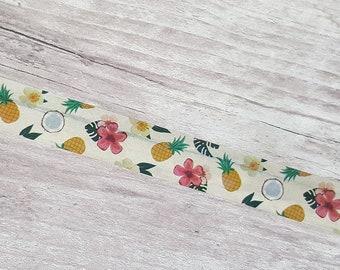 Tropical Washi Tape// Coconut Washi// Summer Craft Tape