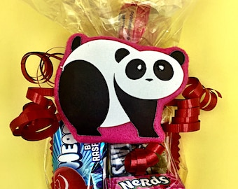 Panda Baby Shower - Panday Bear - Panda Birthday Party - Panda Gifts - Panda Party Supplies - Panda Treat Bags - Panda Favor Bag - Panda Tag