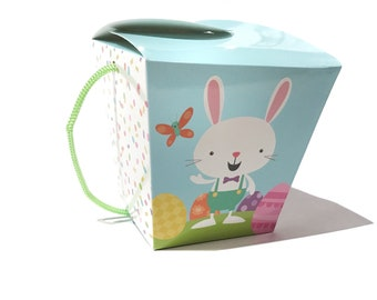 HAPPY EASTER Gourmet Dog Treats Gift Tote Vegetarian All Natural - Shorty's Gourmet Treats