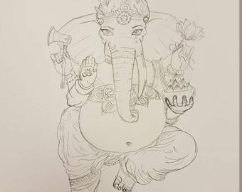 Buddha deity