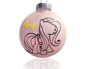 OOAK Custom personalized Christmas Ornament My Little Pony (personalized)