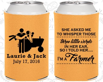 She Asked me to Whisper, Those three little words in her ear, so I told her I am a farmer, Country Wedding, Farm Wedding (544)