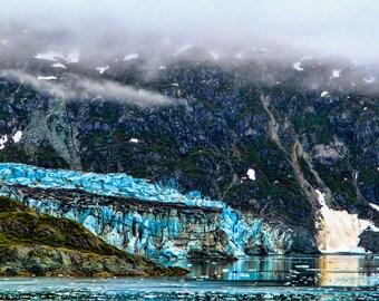 "Glacier Bay Kayak Landscape Photograph Print  ""Glacier Bay Kayaking"" 8x10 (and larger) Fine Art Photo Print, Alaskan Coastal Photography"