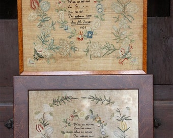Ann M. Franks 1825 (an Antique Sampler Reproduction) : Cross Stitch Pattern by Heartstring Samplery