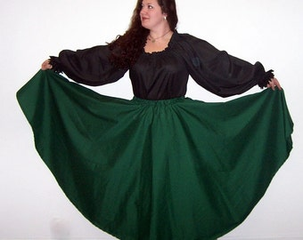 Odd Bodkin Circle Skirt - Broadcloth - Made to Order