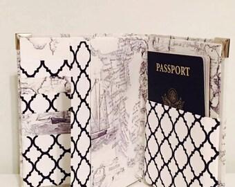 Family Passport Holder, Family Passport Wallet, Passport Wallet, Passport Cover, Passport Holder, Passport Case, Boarding pass wallet,