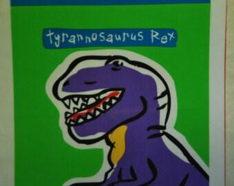 2  Dinosaur Pillow Blocks