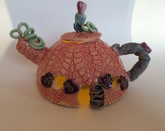 Lacy Fairy Teapot Nightlight