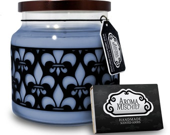 Rain & Stream Soy Candle | Soy Candles | Jasmine Candle | Bamboo Candle | Rain Candle | Scented Candles | Housewarming Gift