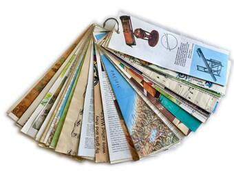 Journaling Supplies, Junk Journal, Smash Books, Paper Pack, Scrap Pack, Vintage Paper, Paper Ephemera, Mixed Media Collage, Art Journaling