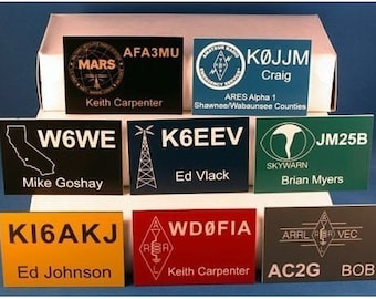 Ham Radio Call Sign Badges Amateur Radio HAM-1