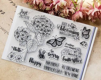 Clear stamp set