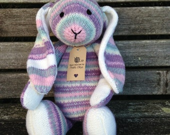 Hand knitted Bramble Bunny