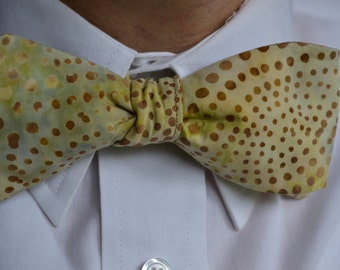 Fashion Bow Tie, Mens Bow Tie, Self-Tie Bow Tie, Yellow Bow Tie, Mens Bowties, Mens Bowtie, Yellow Bowtie, Wedding Bowtie, Gifts for Men,