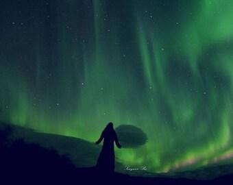 Northern Lights Art Print fine art photography