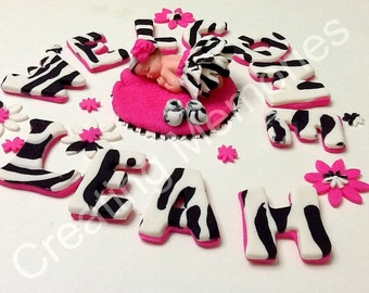 Baby Shower Cakes Zebra Print ~ Zebra print baby shower cookies these were ordered by one u flickr