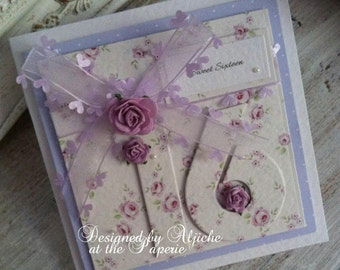 16th Birthday Card, Sweet Sixteen, 18th, Daughter, Grand Daughter, Personalized