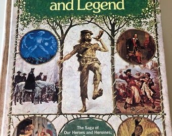 1977 Readers Digest.. American Folklore and Legend