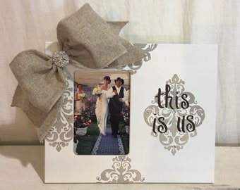 This is Us Wedding Frame in Ivory