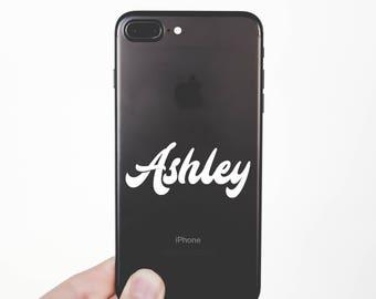 Custom iPhone Name Decal