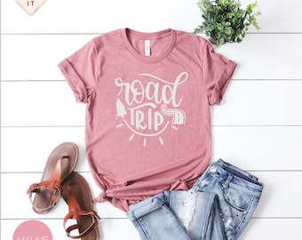 Road Trip Shirt, Let's be Adventurers, Travel Addict, Wanderlust, Vacation Shirt, Beach Shirt, Camping, Vacation Vibes, It's on my list