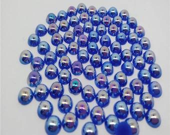 100 half bright blue Pearl 8MM. New stick