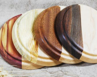 Variety Wood Coasters Set (4) Customize your Coasters