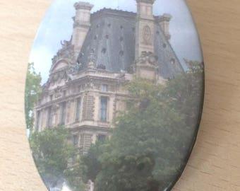 """magnets / Fridge Magnet: """"le Louvre"""""""