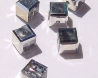 Swarovski Crystal Beads CUBE 5601 Swarovski elements beads Crystal CAL -- Available in 4mm, 6mm and 8mm