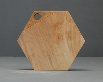 Hexagonal chopping board