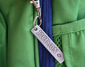 Personalized Bag Tag - Back to School - Sport Bag Tag - Backpack Tag - Baseball - Football - Soccer - Golf - Dance - Tennis - Lacross - CC