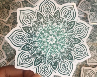 Gradient Mandala Sticker