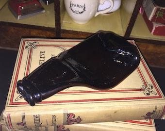 Vintage Melted Beer Bottle Spoon Rest
