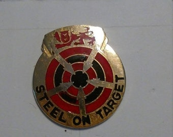 Spring Sale Vintage US Army 23rd Artillery Group Unit Crest Insignia