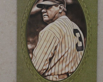 new just in babe ruth cosenza art studios Card