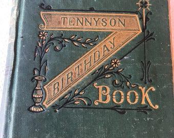 Tennyson Birthday Book 1883